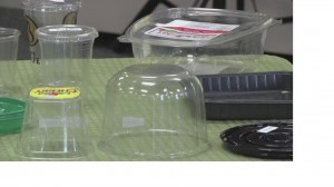 Imahe of lightweight plastic containers which can now be recycled in Montgomery County