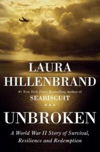 photo of bookcover of Unbroken