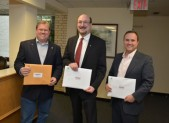 Incumbents Jud Ashman, Neil Harris and Ryan Spiegel picked up their candidate packets on June 5th.