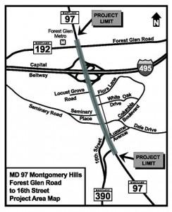 SHA 97 Improvements Montgomery Hills