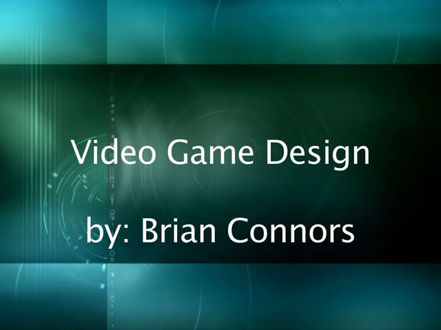 Citizen Journalism Video Game Design by Brian Connors picture