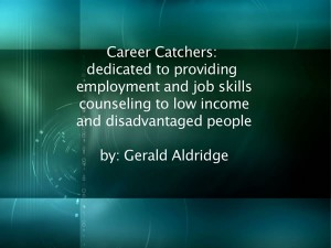 Citizen Journalism Gerald Aldridge Career Catchers report picture