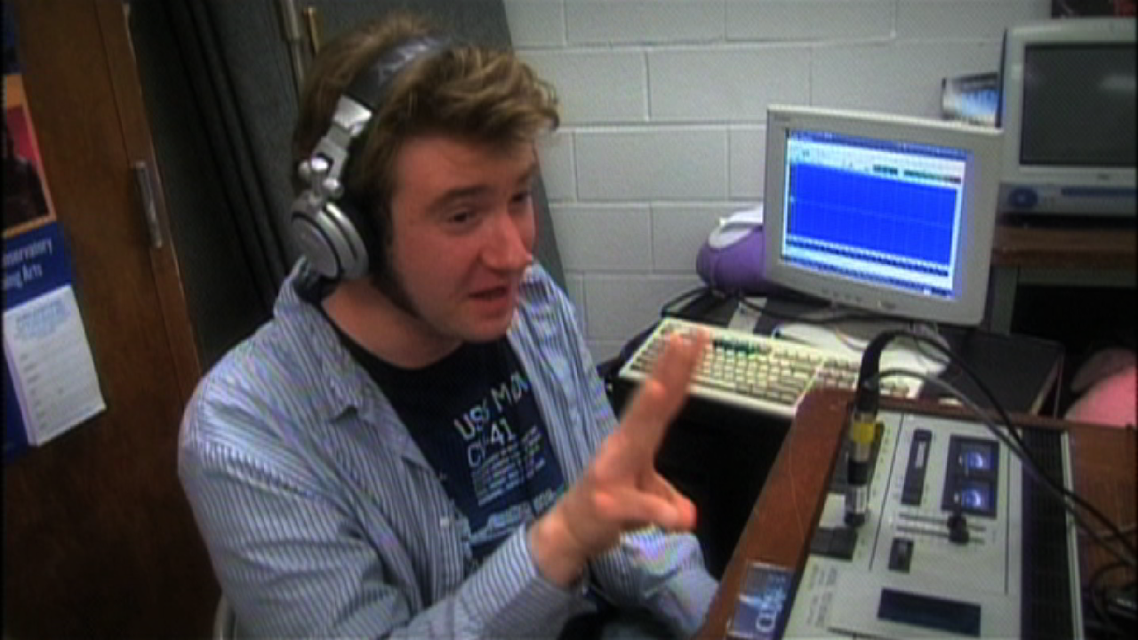 Students at Magruder High School can learn about radio