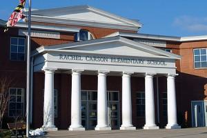 Rachel Carson Elementary, ablue ribbon school, in Montgomery County , Maryland
