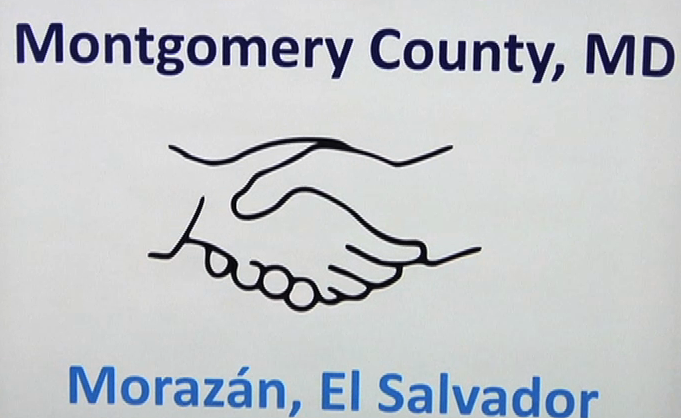 The Salvadoran Ambassador came to thank Montgomery County residents who partnered with the sister city of Morazan in El Salvador