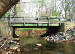 White Ground Road Bridge, Montgomery County, Maryland, has reopened.
