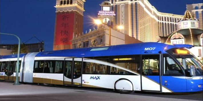 Graphic of Bus Rapid Transit system