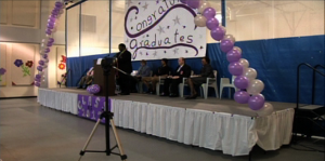 Graduation ceremony at MoCo Correctional Facility