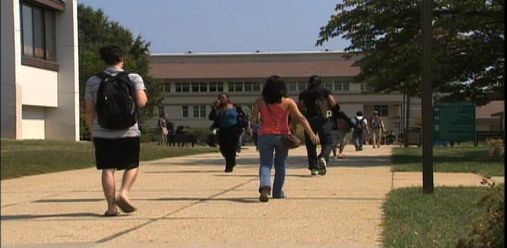 Montgomery College students