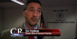 Eric Friedman Director Office of Consumer Protection picture