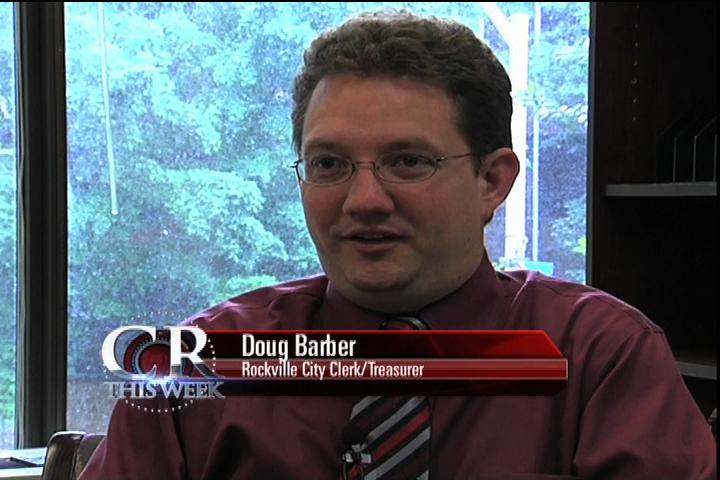 Rockville City Clerk Doug Barber