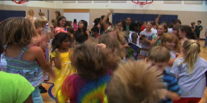 Elementary School students celebrate last day of school