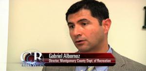 Director of MoCo Recreation Department Gabriel Abornoz