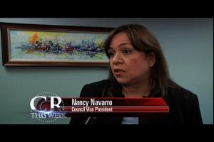Council Vice President Nancy Navarro