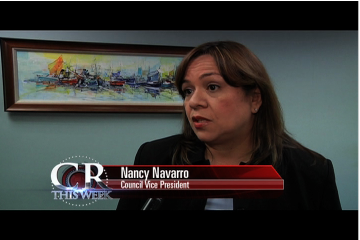 Council Vice President Nancy Navarro