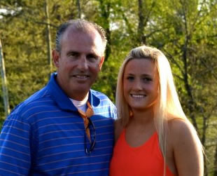 photo of Paige Miniturn and faither