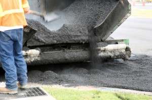 Street resurfacing equipment