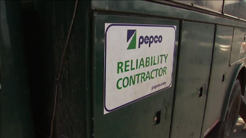Pepco sign