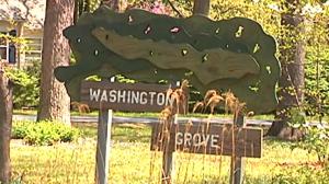 Washington Grove Sign