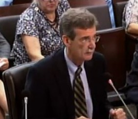 image of Senator Brian Frosh at Pepco Debriefing July 19, 2012