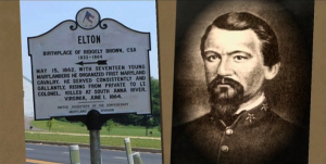Montgomery County Civil War Plaque