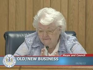 Rockville City Mayor Phyllis Marcuccio