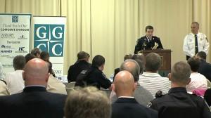 Gaithersburg Police Chief Sroka Presents Distinguished Service Citations