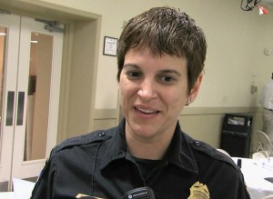 Montgomery County Police Officer Nicole Gamard