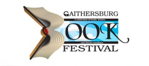 logo for gaithersburg book festival