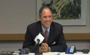 Roger Berliner at press conference