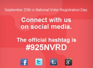 National Registration Day graphic