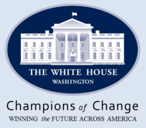 White House Champions of Change graphic