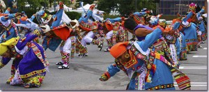 Dancers at Celebrate Gaithersburg