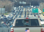 Traffic on American Legion Bridge