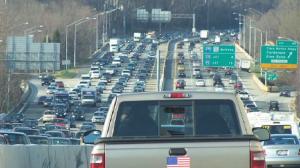 Traffic on American Legion Bridge