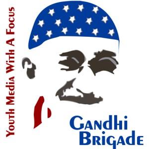 Gandhi Brigade logo