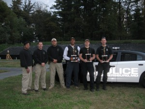 Image of - Gaithersburg Police Department Holds Chief's Pistol Competition