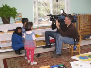 ABC7 & WUSA9 interviewing children