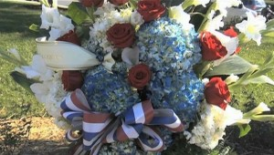 Flowers at Veterans Day
