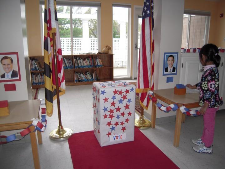 Franklin School Polling Place