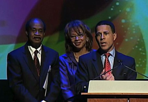 Anthony Brown at Excellence in Arts Awards
