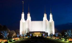 Mormon Temple Festival of Lights