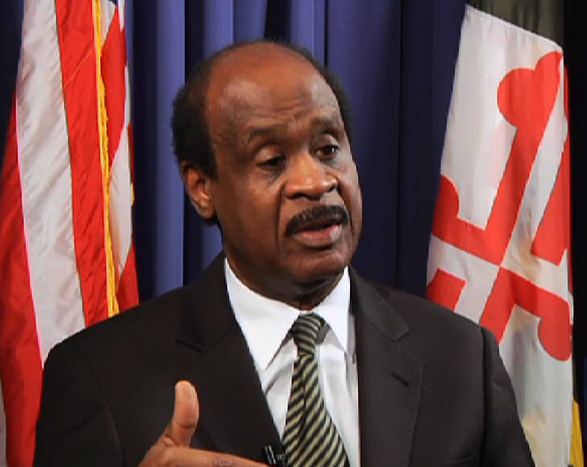 Montgomery County Executive Isiah Leggett