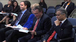 District 17 Maryland Delegation appears before Rockville City Council