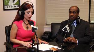 Lorna Virgilli and Isiah Leggett on Montgomery Al Dia