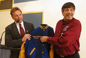 Wayne Miller 20 years of volunteering at Gaithersburg High School