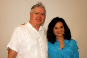 Photo of Andrea McCarren and Robert Snip