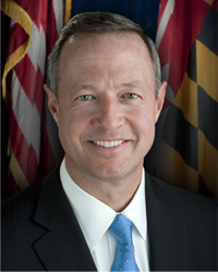 photo of Gov. Martin O'Malley