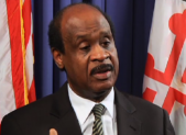 photo of Montgomery County Executive Isiah Leggett