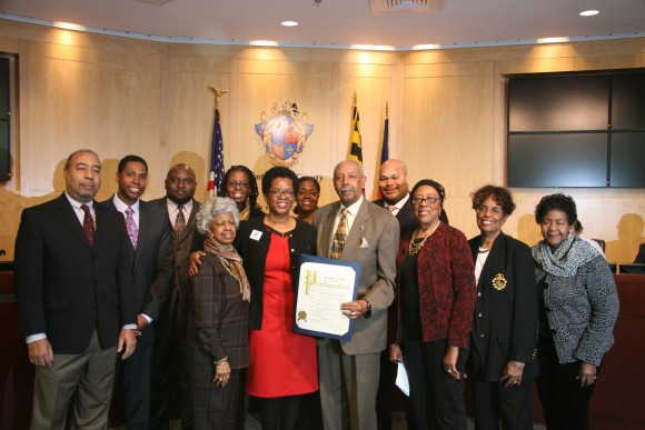 Photo of Council Proclamation